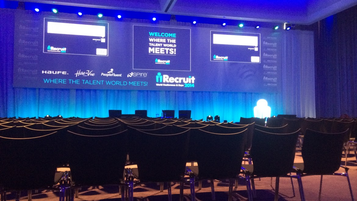 The iRecruit Expo Stage